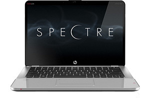 HP ENVY 14 Spectre Customizable Notebook with; 4GB 1333MHz DDR3 System RAM - 1 Dimm; SSD 128GB - Solid State Drive Flash Module; Genuine Windows 7 Home Premium 