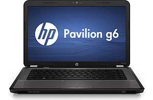 HP Pavilion g6t Notebook PC   2.3 GHz; 750GB HD;