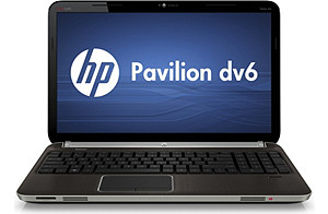 HP Pavilion 16 dv6t Notebook PC   2.5 GHz; 750GB