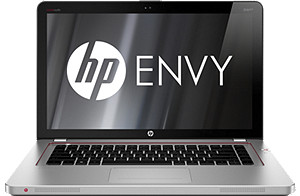 HP ENVY 15t-3200 Notebook with 3rd generation IntelCore i5-3210M - 2.5 GHz with Turbo Boost up to 3.1 GHz; 6GB 1600DDR3 System RAM - 2 Dimm; 750GB 7200 rpm Hard