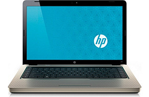 HP G62t Customizable Notebook PC