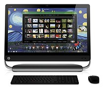 HP Omni 27 Quad series 27 inch HD All-in-one Desktop Computer with 2.5Ghz Intel(R) Core(TM) i5-2400S processor, 8GB DDR3-1333MHz SODIMM memory, 1TB 7200 rpm SATA HDD