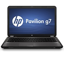 HP Pavilion g7-1070us Notebook PC, charcoal gray