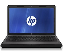 HP 2000-210us Notebook PC, charcoal gray