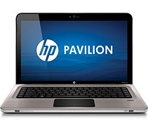 HP Pavilion dv6-3230us Notebook PC, aluminum