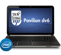"HP Pavilion dv6t Core i7 2670QM 2.2GHz 8GB DDR3 750GB HDD 15.6"" Laptop $861"
