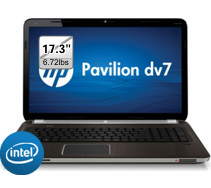 "HP Pavilion dv7t 17.3"" 1080p Blu-ray Laptop $649.99"